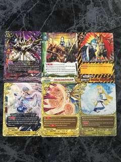 🚚 6pcs buddyfight cards at $3 free normal postage