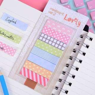 🚚 🌟BN INSTOCKS Colorful Patterns Design Sticky Post-It Memo Pads