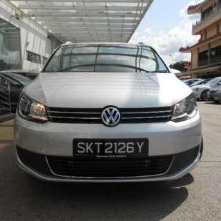 Diesel Volkswagen Touran 7 Seater MPV for rent (Full Tank diesel travel 900KM !!!)