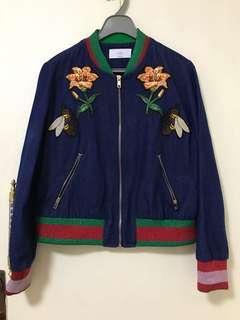刺繡牛仔褸外套, 韓國