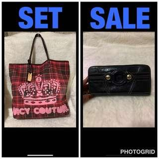 original authentic juicy bag & wallet💕from japan💕