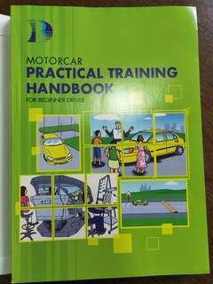 🚚 Brand new motorcar practical training handbook for beginner driver by BBDC