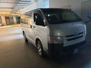 Brand new Toyota Haice for rent