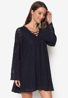 Zalora Laced Swing Dress