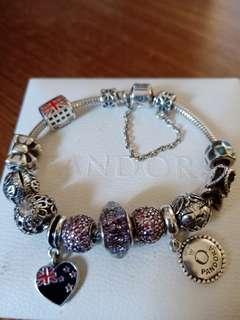 Pandora bracelet (Size 17).