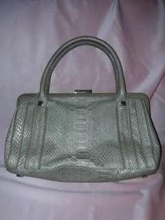 Authentic Ted Baker Snakeskin / Crocodile skin Handbag