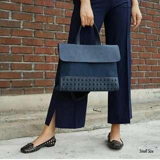 🚚 Kwani Bag - Blue (studs)