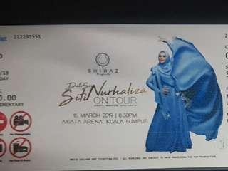 (GOLD) Dato 'sri Siti Nurhaliza ON TOUR KL