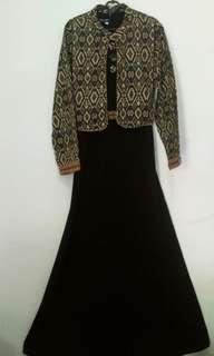 Dress Gold and Black