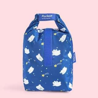 Wishing Stars Pockeat Reuseable Food Bag
