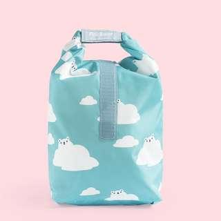Clouds Pockeat Reuseable Food Bag