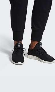Adidas PHARRELL WILLIAMS TENNIS HU SHOES Black UK 5.5