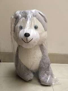 Boneka siberian husky preloved