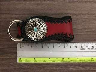 🚚 Leather Key Fob