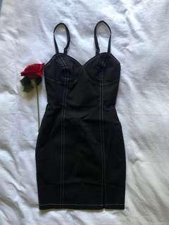 BN Denim style bodycon dress