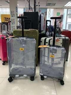 阿豪 最新到貨 早買早享受 意大利Crash Baggage 透明 25寸果凍行李箱