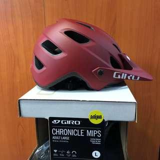 New: Giro Chronicle MIPS helmet Matt red 2019