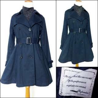Japan trench coat / blazer coat / overcoat / winter coat / spring coat / autumn coat / coat musim semi / winter coat / long coat / coat panjang / long outer / outer panjang / outerwear