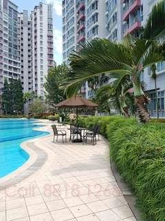 So Rare Nice Penthouse 3-Bedroom Unit NEAR Woodlands MRT For Rent Now! First Come First!