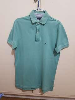 Authentic Tommy Hilfiger classic poloshirt green