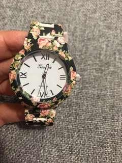 Floral Women's Watch