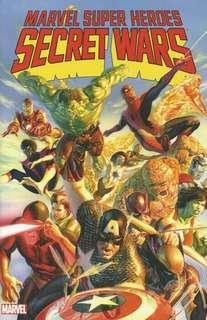 Marvel graphic novel SECRET WARS TPB trade paper back