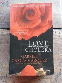 [20th Century Classic] LOVE IN THE TIME OF CHOLERA by Gabriel Garcia Marquez