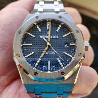 Audemars Piguet 15400 Blue Dial Boutique Edition