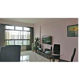 High Floor 2rm flat with unblocked view near Punggol MRT & Mall for Sale!