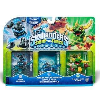 Skylanders Swap Force (Grim Creeper, Arkeyan Crossbow, Thorn Horn Camo)