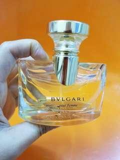 Bvlgari pour femme香水30ml second hand