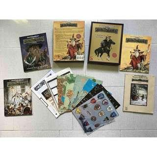 """Advanced Dungeons & Dragons AD&D Forgotten Realms Campaign Setting Boxed Set """"New Edition"""""""