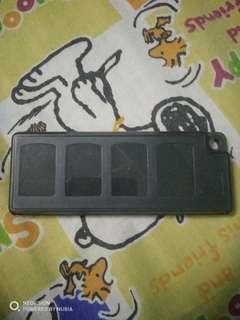 Ps vita games cartridge box (used)