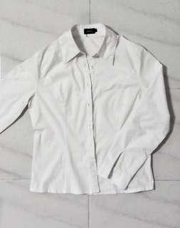 🚚 White Button Down Shirt