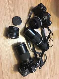 Konica Nikon 單眼底片相機