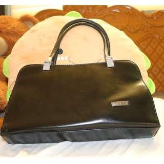 Black Medium Handbag