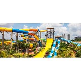 Austin Heights Water & Adventure Park Entrance E-ticket