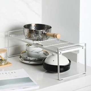 🚚 Wrought Iron Kitchen Bathroom Storage Rack