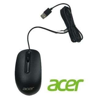 《宏碁》Acer 原廠有線滑鼠 USB光學滑鼠