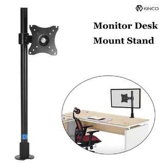 Monitor Stand Rotation Double Arm Adjustable Desktop Holder for Computer Monitor