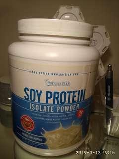 蛋白粉 soy protein isolate powder美國名廠兩磅裝