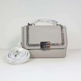 🚚 Michael Kors - Tina Ash Grey Satchel Leather