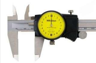 日本 三豐 Mitutoyo 針盤式卡尺 全新公司貨 505-730 0.02/150mm
