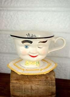 古董BAILEY's眨眼杯