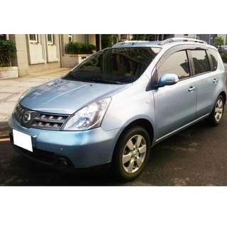 油耗優、省稅金 2013 日產 NISSAN LIVINA 更多照片車款+LINE 0968865369