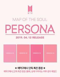 [BIGHIT SHOP GO] BTS MAP OF THE SOUL PERSONA