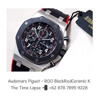Audemars Piguet - ROO Black Red Dial, Black Ceramic Bezel 'K' (New in Box)
