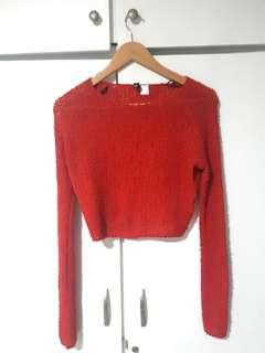H & M Red Sweater