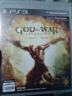 Ps3 game gow God of war ascension