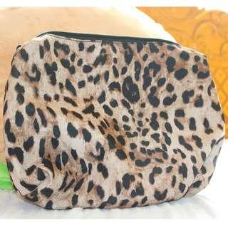 Animal Print Large Pouch